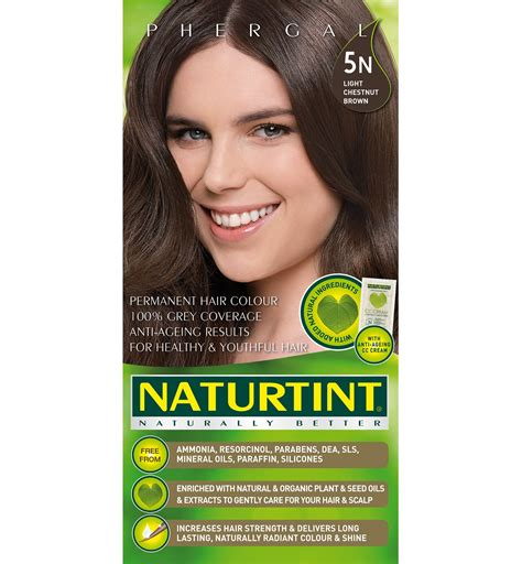 naturtint hair color naturtint permanent light golden chestnut 5g