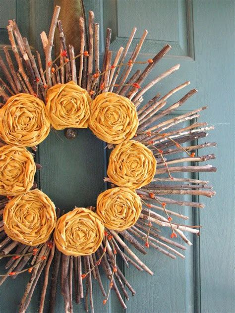 How To Make Fall Wreaths For Front Door 9 Fall Wreath Ideas How To Make Front Door Wreaths Diy Ready