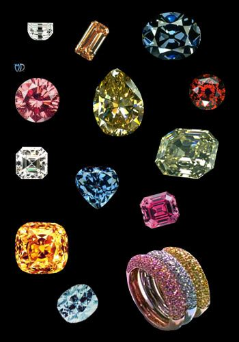 different color diamonds different color diamonds pictures to pin on