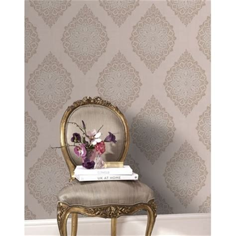 Wallpaper 10m Bunga Shabby 17 best images about salon room white gold and on shabby