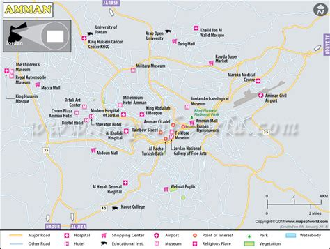 us map with states cities and highways amman map map of amman city jordan