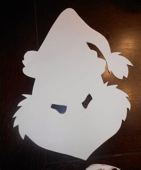 the grinch mask template diy grinch mask