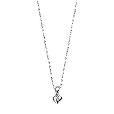 Silver Pendant With Chain set silver pendant with chain 35cm 14 quot
