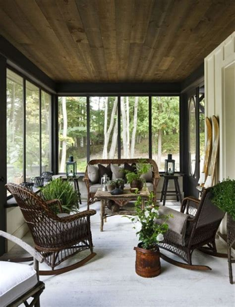 Sun Screens For Porches 36 Comfy And Relaxing Screened Patio And Porch Design