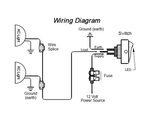 cool kc hilites wiring diagram images electrical circuit