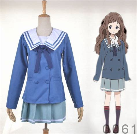 Ayi Dress blue beyond the boundary ayi ai shindo school