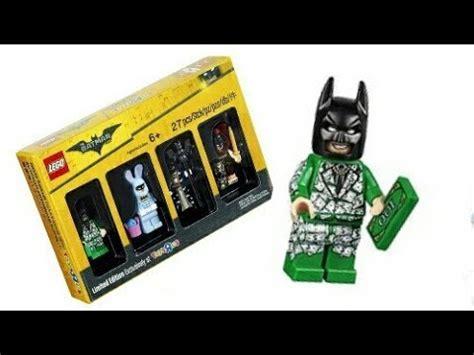 Exklusif Lego Minifigures Panda Suit Limited review lego money suit batman minifigure the lego batman exclusive bricktober set