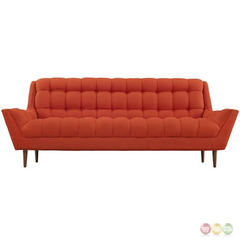 contemporary tufted sofa response contemporary button tufted upholstered sofa