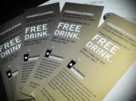 Starbucks Gift Card Free Drink - 11 15 11 free drinks the goodbye mailbox
