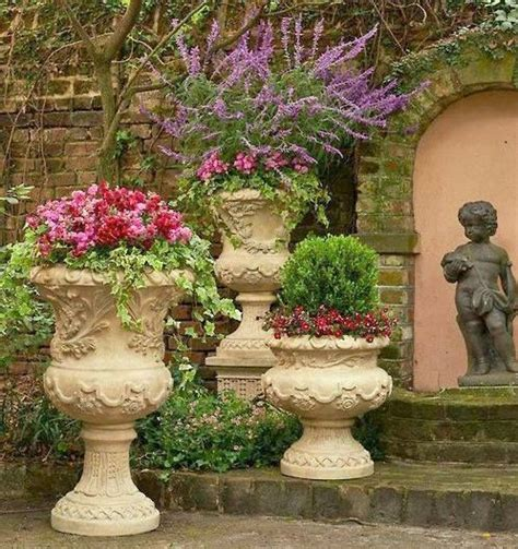 Cemetery Planters by 17 Best Images About Planters Pedestal And Statues On
