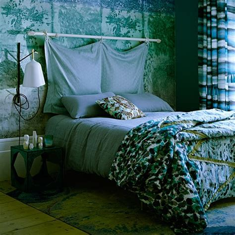 blue green bedroom blue and green bedroom with panel decorating
