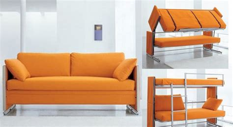 bonbon sofa bunk bed furniture that does double duty homes com