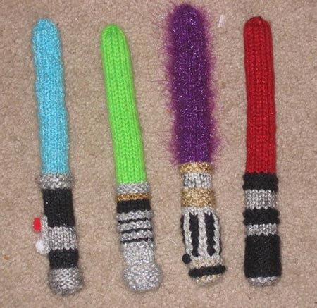 lightsaber knitting needles for sale yes wars arts and crafts for sale geekologie