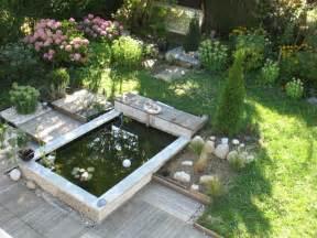 construire un bassin de jardin en bassin de jardin