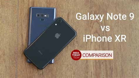 iphone xr  galaxy note  camera comparison youtube