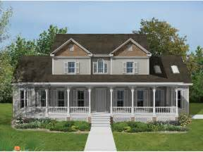 Two Story Farmhouse by High Meadow Country Farmhouse Plan 021d 0021 House Plans