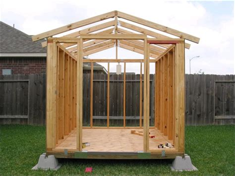 Make Your Own Shed Kits by How To Build Your Own Garden Shed Storage Shed Kits
