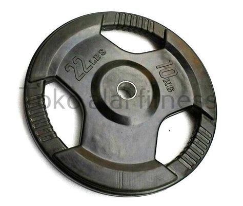 Rubber Plate Grip 3cm 20kg rubber plate grip 10kg toko alat fitness