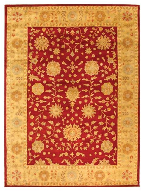 3 By 5 Area Rugs Heritage Yellow Area Rug Hg813a 3 X 5 Traditional Rugs By Zopalo