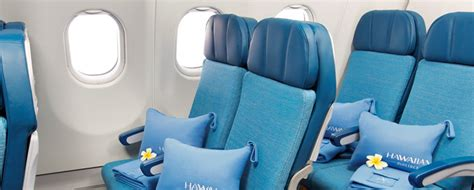 hawaiian airlines extra comfort more legroom hawaii flights and hawaii packages coming