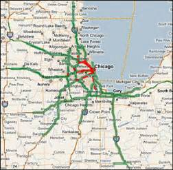 chicago highway map highway evacuations in selected metropolitan areas assessment of impediments chicago