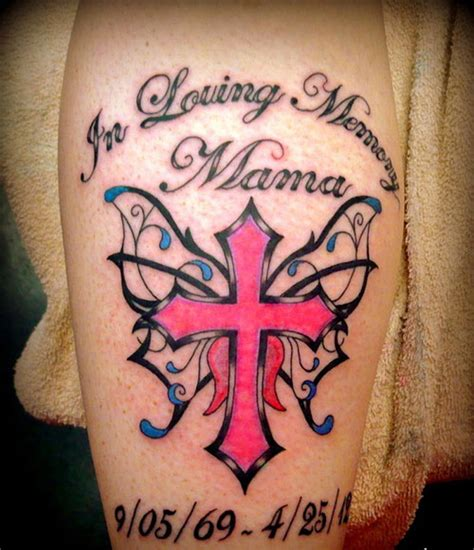 mom memorial tattoo rip tattoos for best design for your best memory