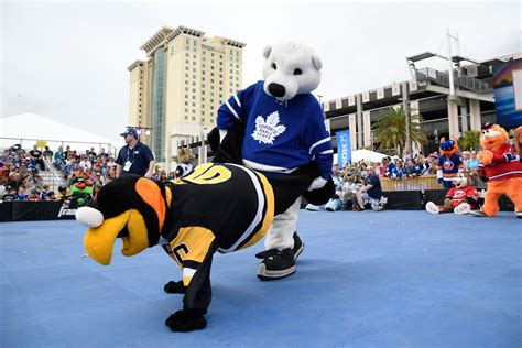 bleacher creatures carlton puppet toronto leafs mascot asks to be traded theleaf co