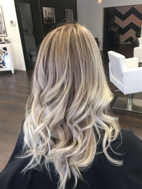 ash blonde balayage ash brown with blonde balayage makeup hair pinterest