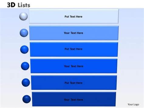 powerpoint list templates powerpoint template business list ppt slides