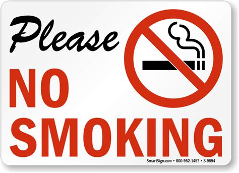 no smoking sign pics no smoking labels please no smoking sku s 9594