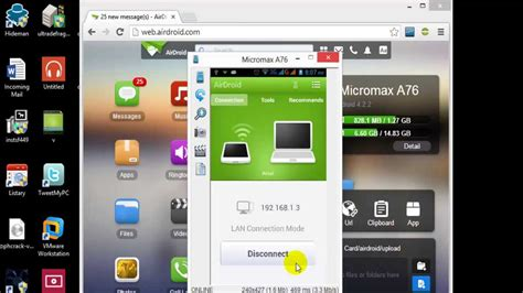 how to connect android to pc how to connect the android mobile to pc in wifi