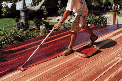 finishes  wood decks professional deck builder