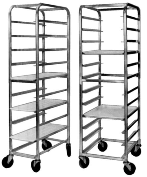 Speed Racking by Pan Racks Bakery Pan Racks Speed Racks Platter Carts