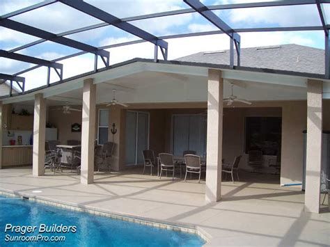 lake mary florida pool deck patio cover prager builders
