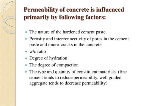 And Permeability Of Concrete the effect of rise husk ash on strength and permeability of concrete
