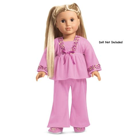 Where Can I Find American Girl Gift Cards - american girl julie s pajamas pj s slippers nib nrfb ebay