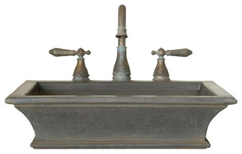 industrial bathroom sink classical shape cast iron style vessel sink industrial