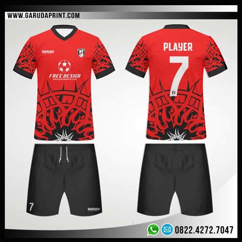 Desain Baju Futsal Nike Depan Belakang | desain jersey futsal polos depan belakang