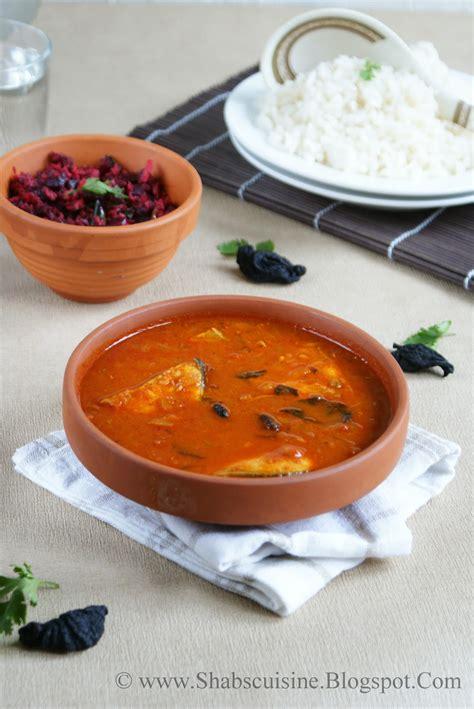 Malabar Kitchen Recipes by Shab S Cuisine Malabar Kannur Fish Curry Tangy And Tasty