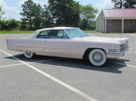 used pink cadillac for sale find used 1966 pink cadillac convertible 2 door