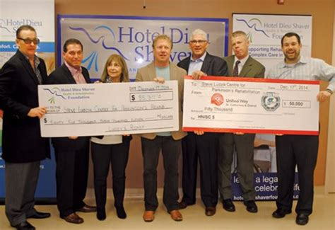 S Detox St Catharines by Ambassadors Boost Parkinson S Rehab Centre At Hotel Dieu