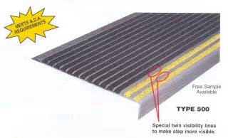 Stair Tread Repair by Stair Repair Aluminum Renovation Treads