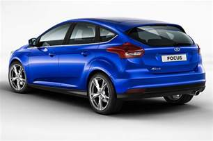 Hatch Back 2015 Ford Focus Hatchback Rear Side View Photo 1