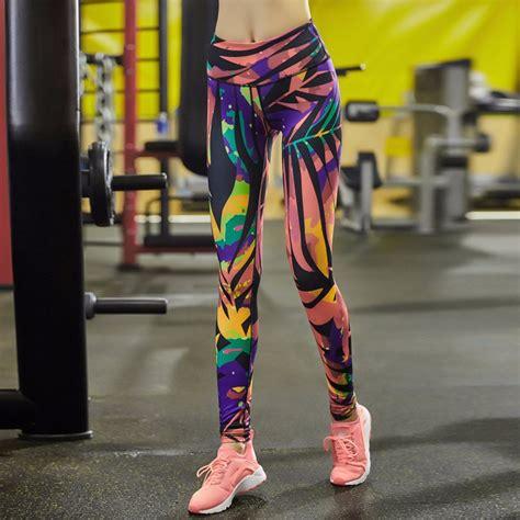 pattern living leggings living in the wild women s leggings printed yoga pants workout
