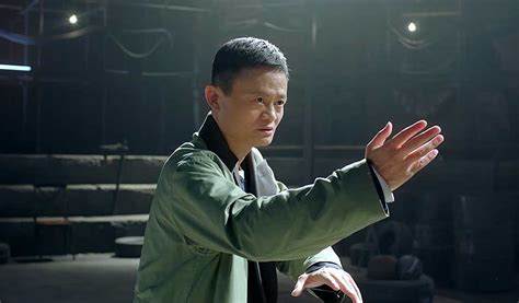 alibaba film alibaba s jack ma takes on martial arts masters in