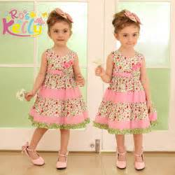 Kids cotton frocks designs baby cotton frock designs for
