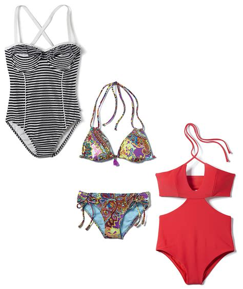 the best swimsuits for all body types real simple straight figure the best swimsuits for all body types