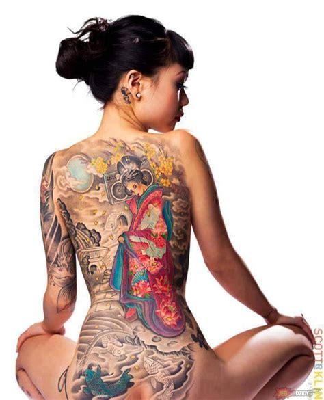 japanese geisha tattoo tumblr geisha in kimono half body tattoo great tattoos picture