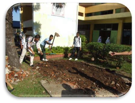 Minyak Nilam Padang aktiviti gotong royong sekolah lestari smk kuhara