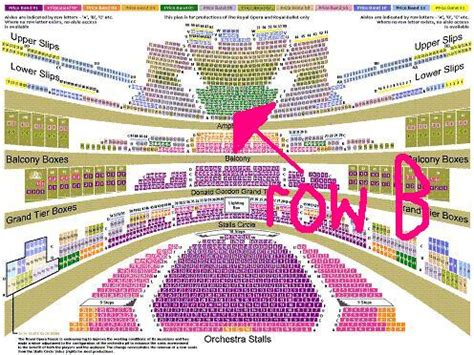 Royal Opera House Seating Plan Review 02 Seating Plan Seat Numbers